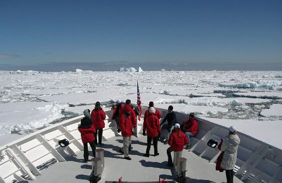 Expedition Vessel Hanse Explorer Foredeck