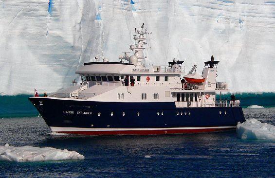 Expedition Vessel Hanse Explorer Port Side