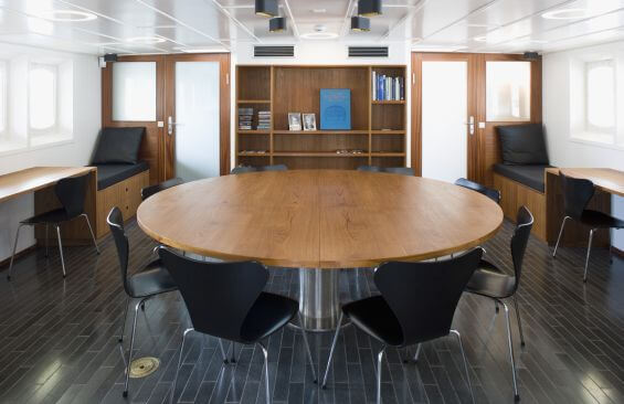 Expedition Vessel Navigator Conference Table