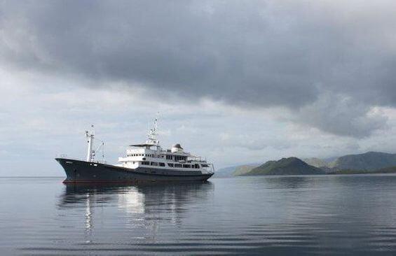 Expedition Vessel Salila Port Side