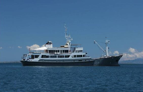 Expedition Vessel Salila Starboard Side