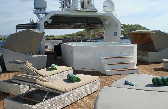 Expedition Vessel Salila Sun Deck