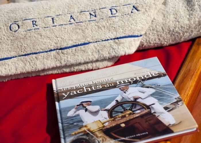 sailing yacht Orianda detail