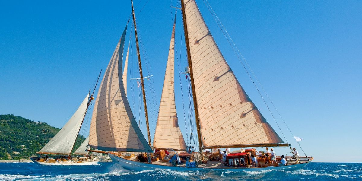 sailing yacht Orianda regatta racing