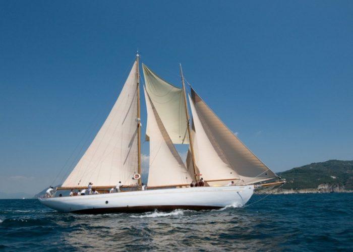 sailing yacht Orianda sailing