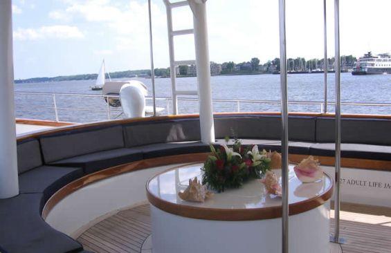 Tall Ship Arabella Deck Saloon
