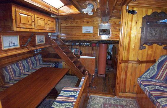 Tall Ship Rhea Saloon