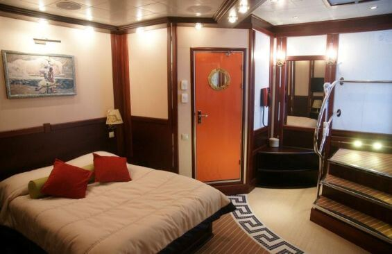 Tall Ship Running On Waves Double Cabin