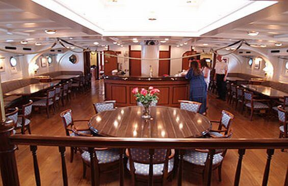 Tall Ship Stad Amsterdam Dining Room And Bar
