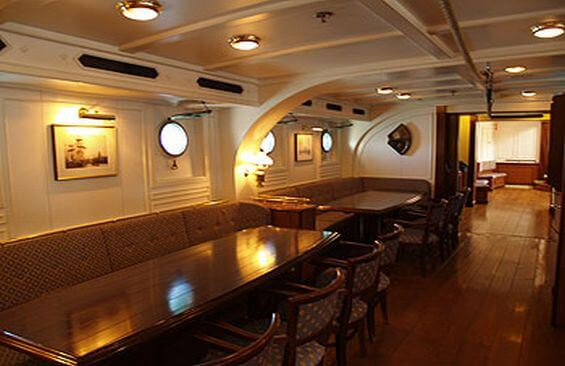 Tall Ship Stad Amsterdam Dining Tables