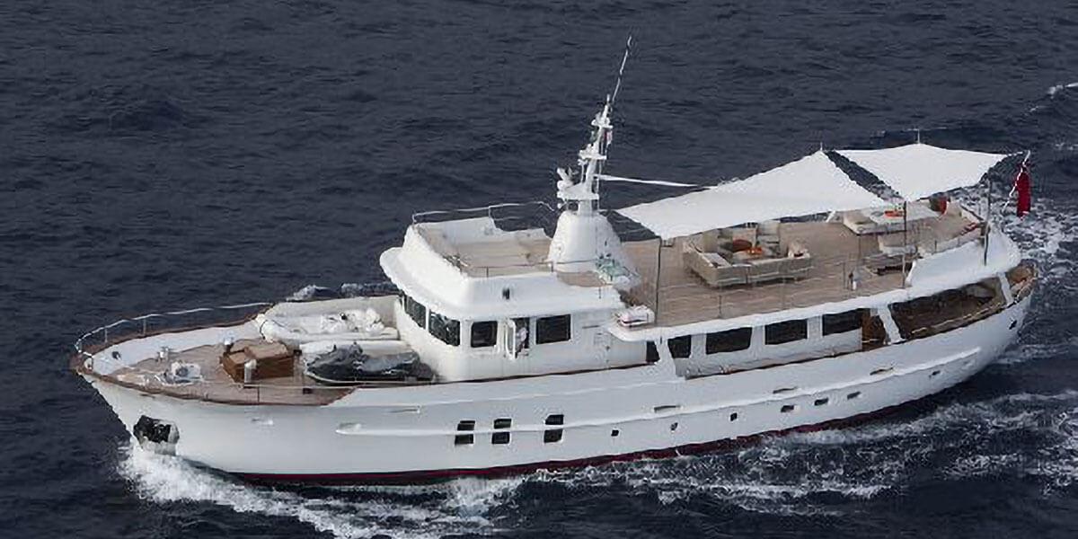 Classic Motor Yacht Sultana