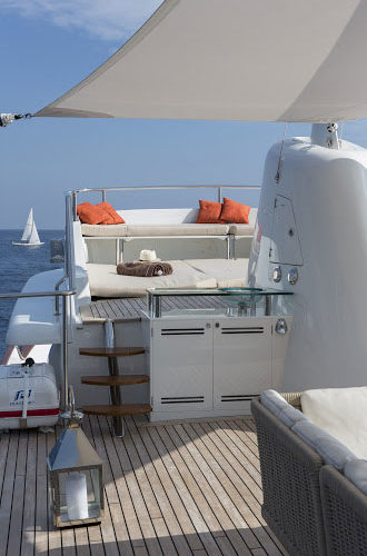 Classic Motor Yacht Sultana BBQ