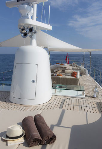 Classic Motor Yacht Sultana Funnel