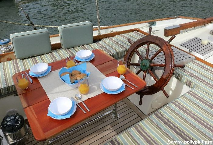 Classic Sailing Yacht Desiderata Breakfast 3