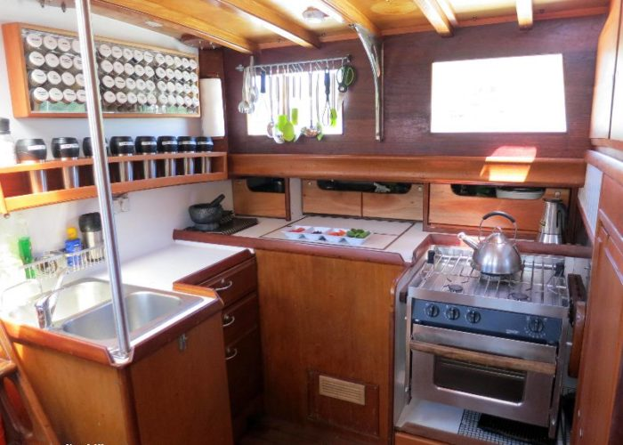 Classic Sailing Yacht Desiderata Galley2