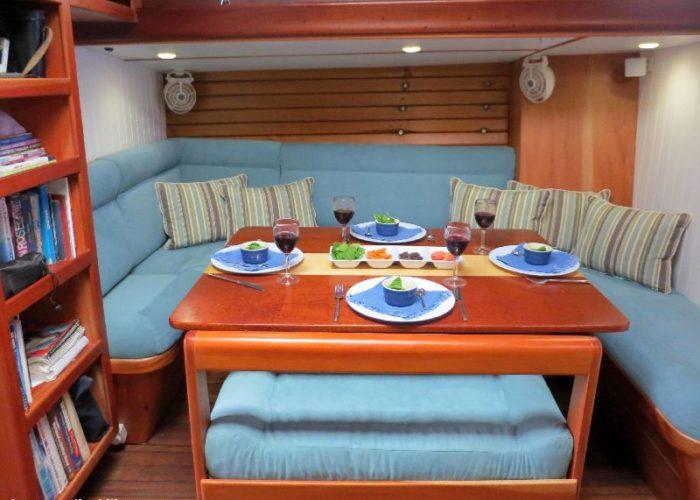 Classic Sailing Yacht Desiderata Saloon 3