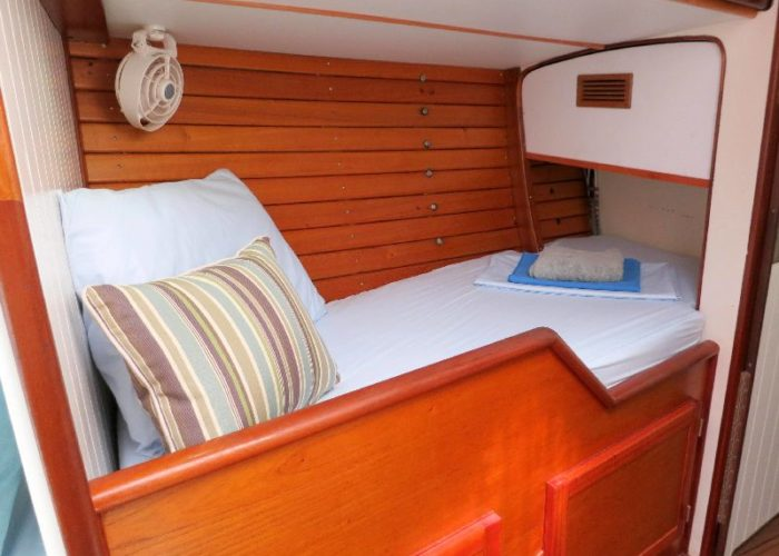 Classic Sailing Yacht Desiderata Single Berth