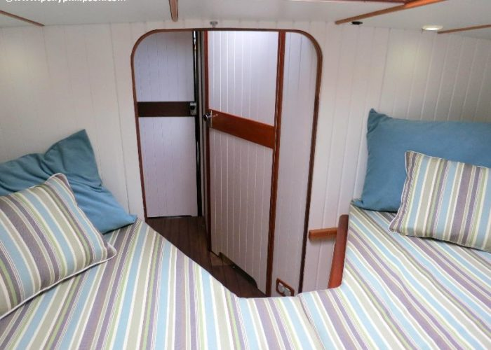 Classic Sailing Yacht Desiderata V Berth
