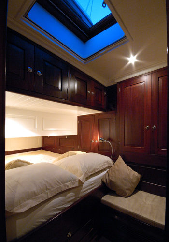 Classic Sailing Yacht Aurelius Guest Cabin