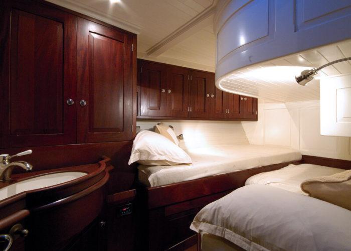 Classic Sailing Yacht Aurelius Guest Stateroom