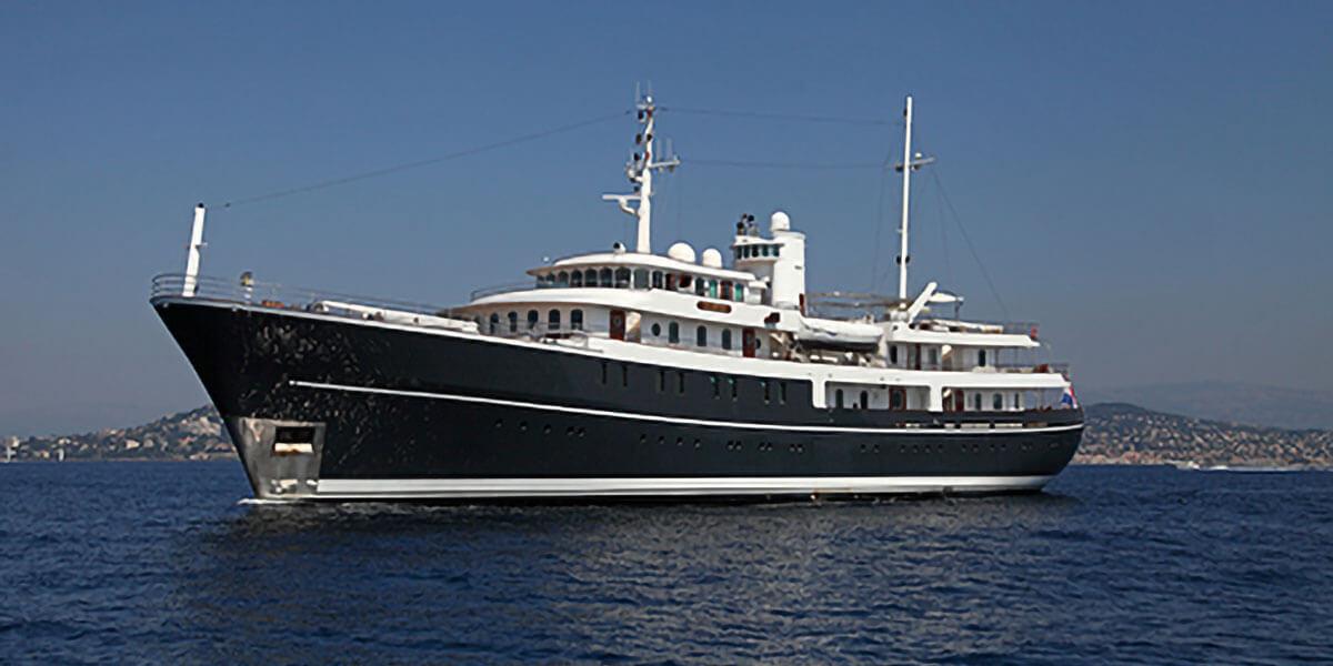Classic Motor Yacht Sherakhan