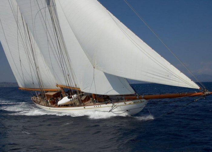 Classic Sailing Yacht Germania Nova Cruising