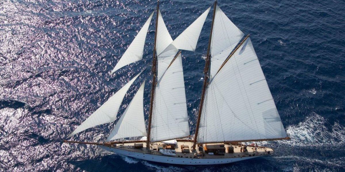 Classic Sailing Yacht Germania Nova