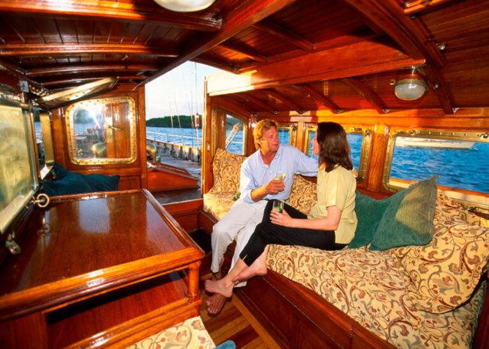 Classic Sailing Yacht Sincerity Deckhouse