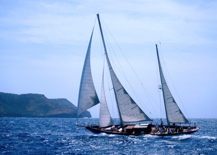 Classic Sailing Yacht Sincerity Full Rig