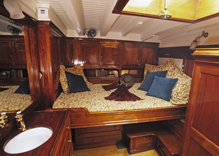 Classic Sailing Yacht Sincerity Master Cabin