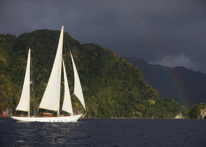 Classic Sailing Yacht Sincerity Under Sail