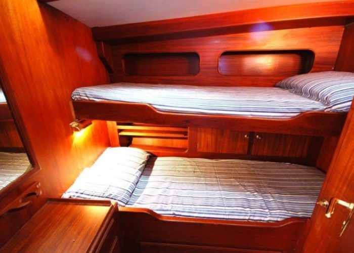 sailing yacht Paulena twin cabin