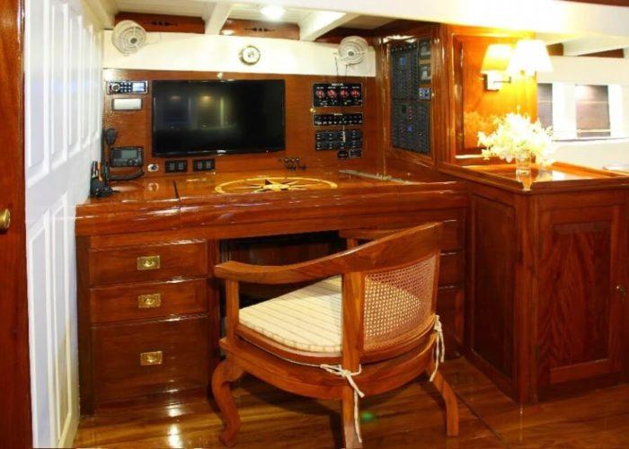 Classic Sailing Yacht Aventure Navigational Equipment