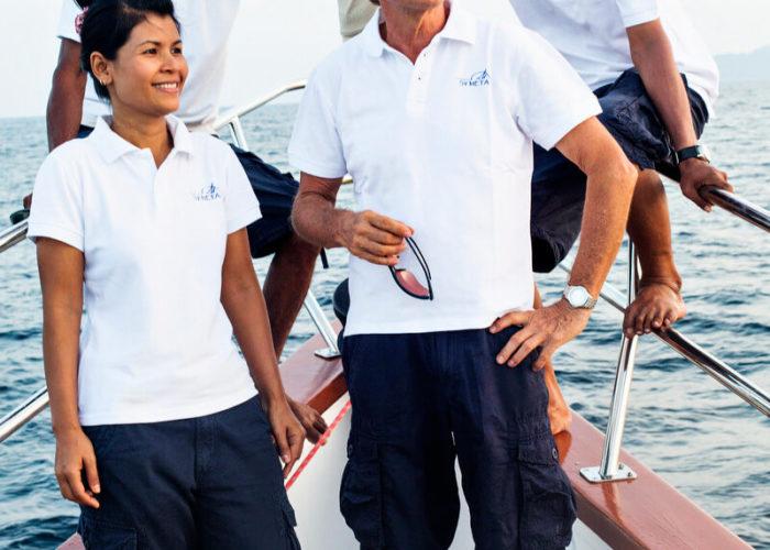 Classic Sailing Yacht Meta IV Crew