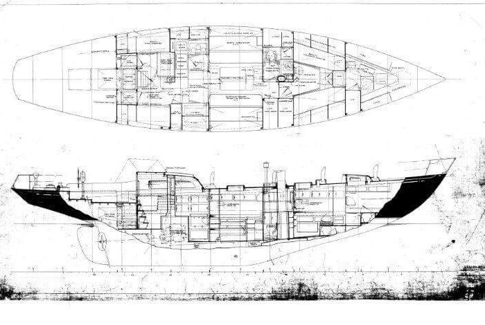 Classic Sailing Yacht Meta IV Layout