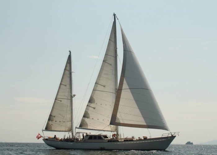 Classic Sailing Yacht Meta IV Sailing