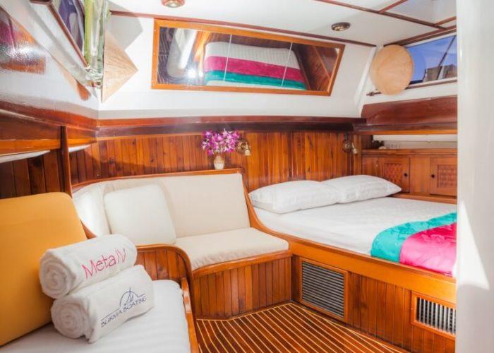 Classic Sailing Yacht Meta IV Stateroom