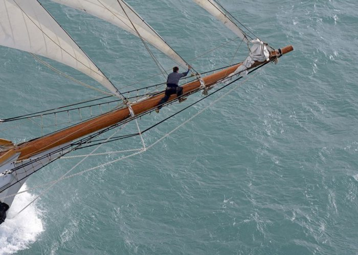 Tall Ship Kaskelot Bowsprit