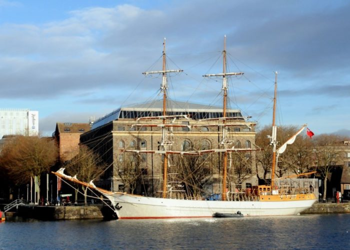 Tall Ship Kaskelot Bristol