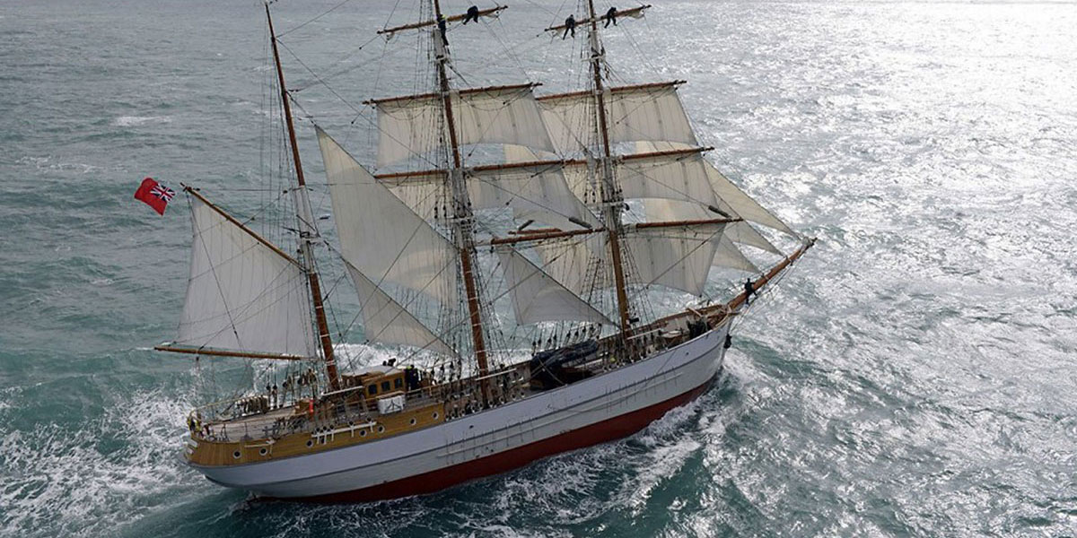 Tall Ship Kaskelot