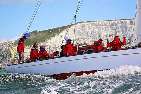 Classic Sailing Yacht Cetewayo Regatta Racing