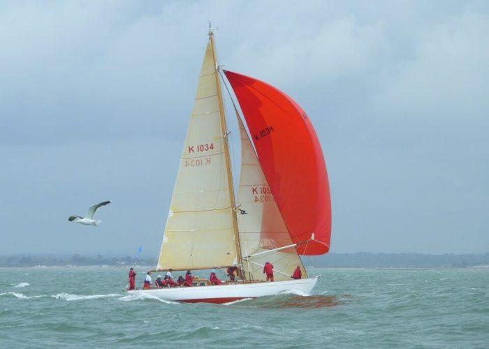 Classic Sailing Yacht Cetewayo Sailing Downwind