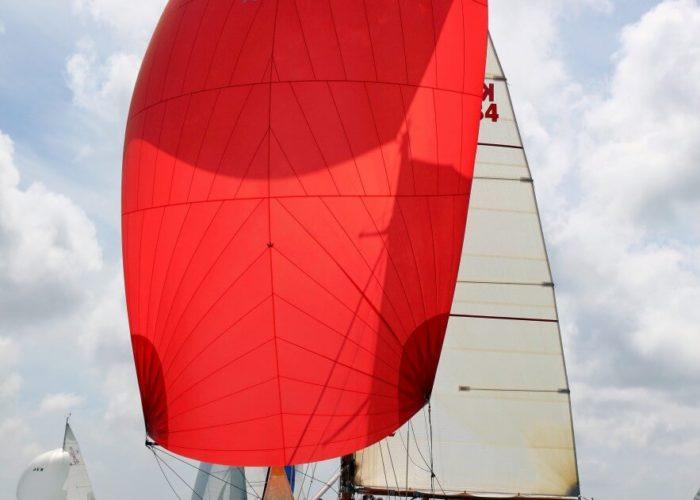 Classic Sailing Yacht Cetewayo Under Sail