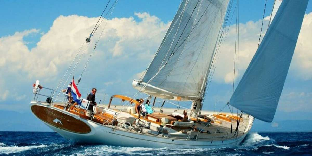 Classic Sailing Yacht Whitefin