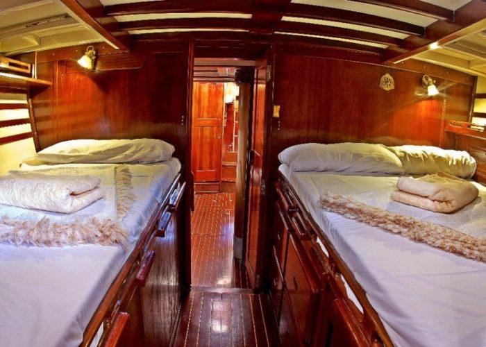 Classic Sailing Yacht Kahurangi Cabin