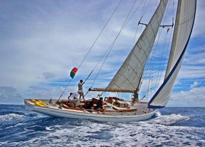 Classic Sailing Yacht Kahurangi Good Sailing