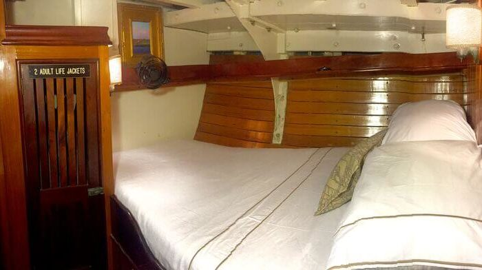 Classic Sailing Yacht When And If Double Cabin