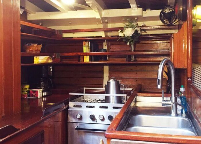 Classic Sailing Yacht When And If Galley