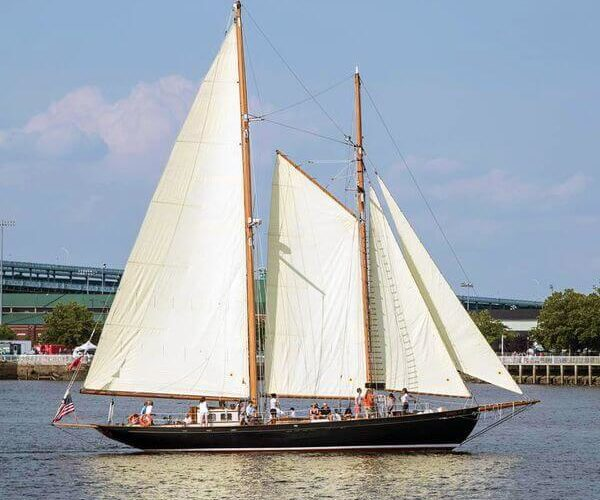 Classic Sailing Yacht When And If Light Wind