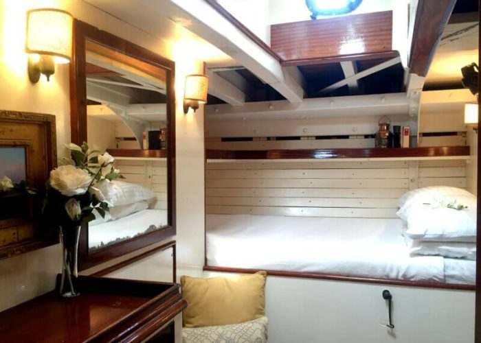 Classic Sailing Yacht When And If Master Cabin